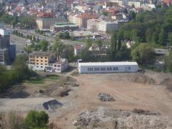bývalý areál společnosti na ulici Polská. Dnešní nákupní centrum Galerie Šantovka