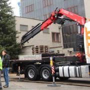 HNJ F365 pomáhal s Vánočním stromkem
