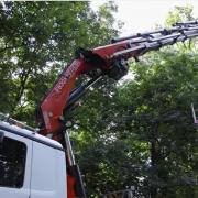 Další možnosti využití hydraulických nakládacích jeřábů Fassi