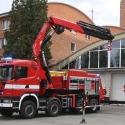 Speciální vyprošťovací automobil pro Hasičský záchranný sbor Zlínského kraje.