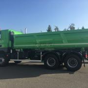 DAF CF s třístrannou sklápěcí nástavbou pro společnost SKANSKA a.s.