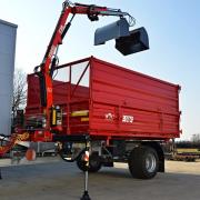 Traktorový přívěs s HNJ Fassi F28A.0.21 active