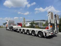 tankovací nástavba na tahači Volvo FH16