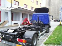 hákový nosič kontejnerů Everlift